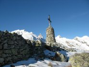 Croce sulla cima Salauta