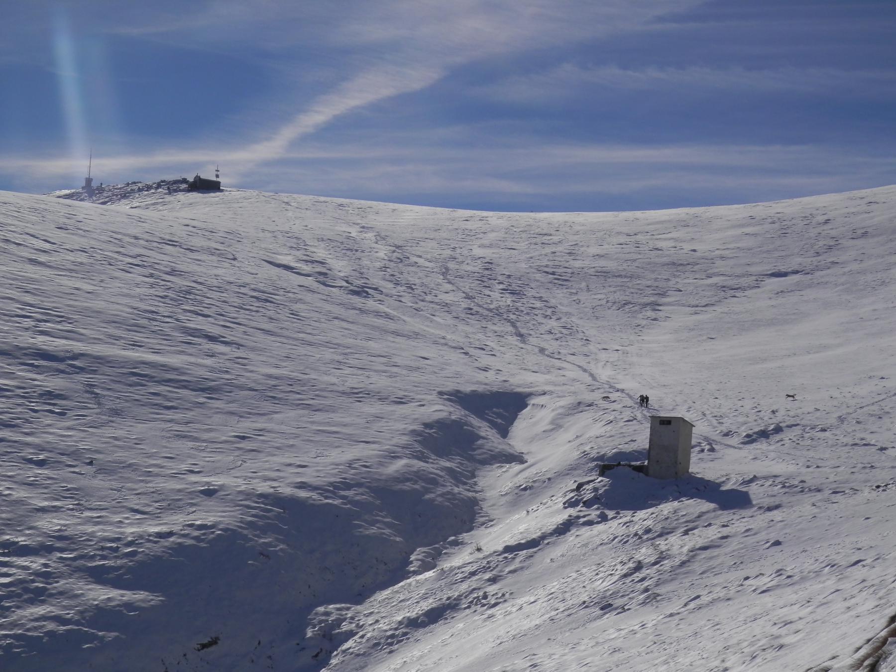 situazione neve al santuario