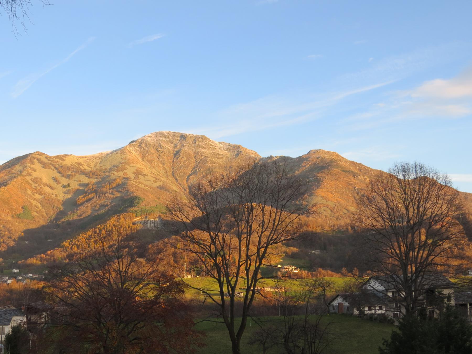 Da sinistra, Torretta delle Cime, Monte Gregorio e Le Colme