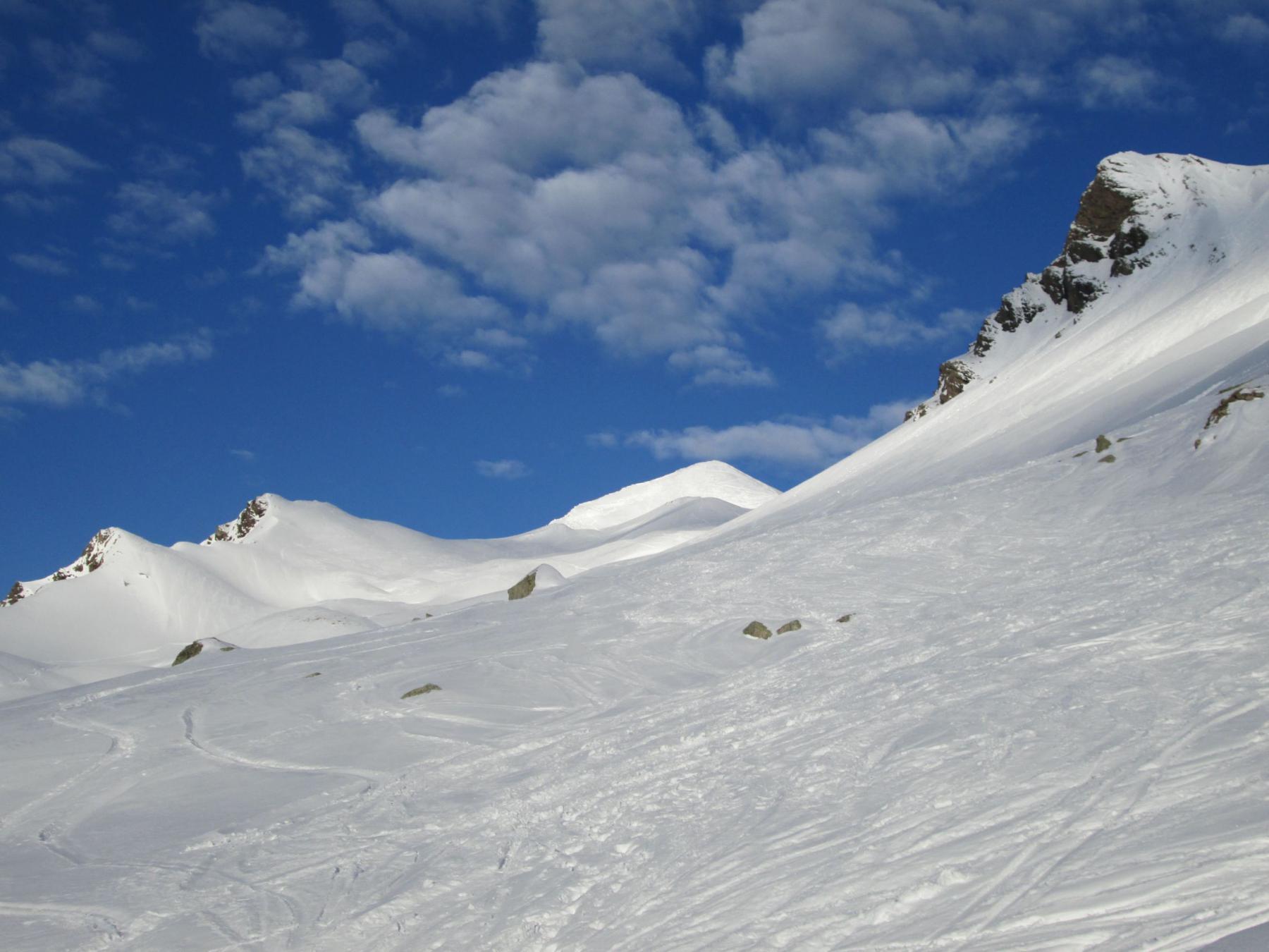 il Pic Blanc al fondo