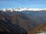 Panorama verso l'alta Val Maira