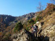 sul sentiero Caudano/S.Maria di Morinesio