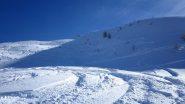 Bei pendii di neve polverosa!!!