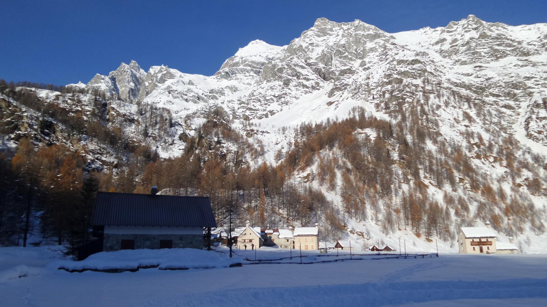 il grande e splendido pianoro dell'Alpe Devero