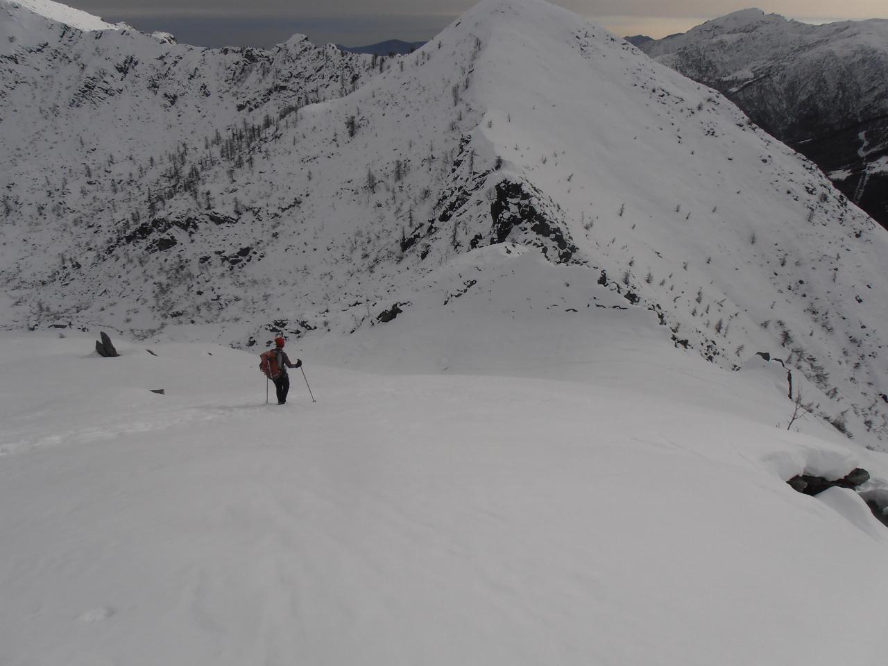 04 - scendendo lungo la cresta verso il Colle d'Attia