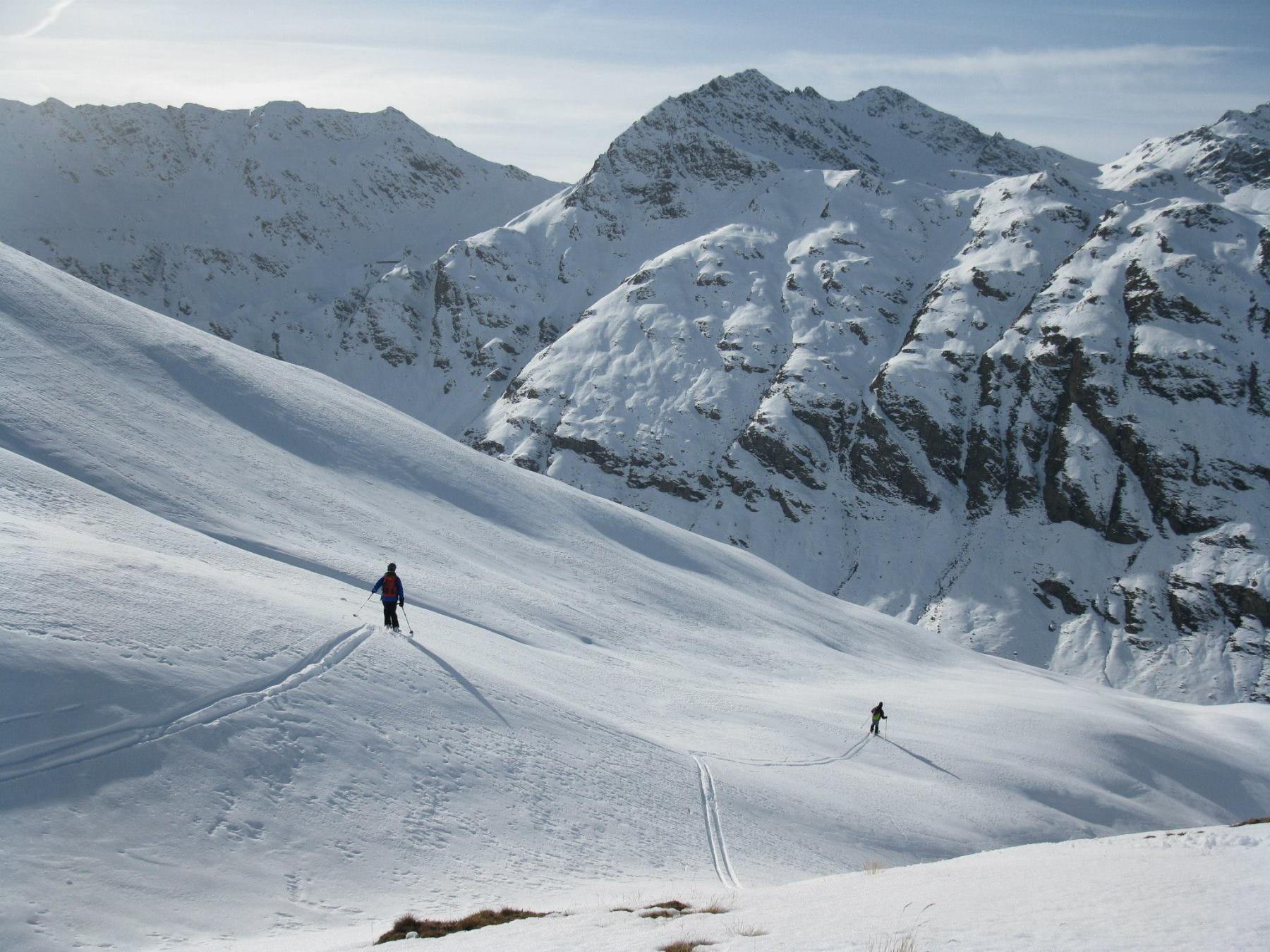 Gran Miol (Punta del) dalla Valle Argentera per il versante NO 2014-11-23