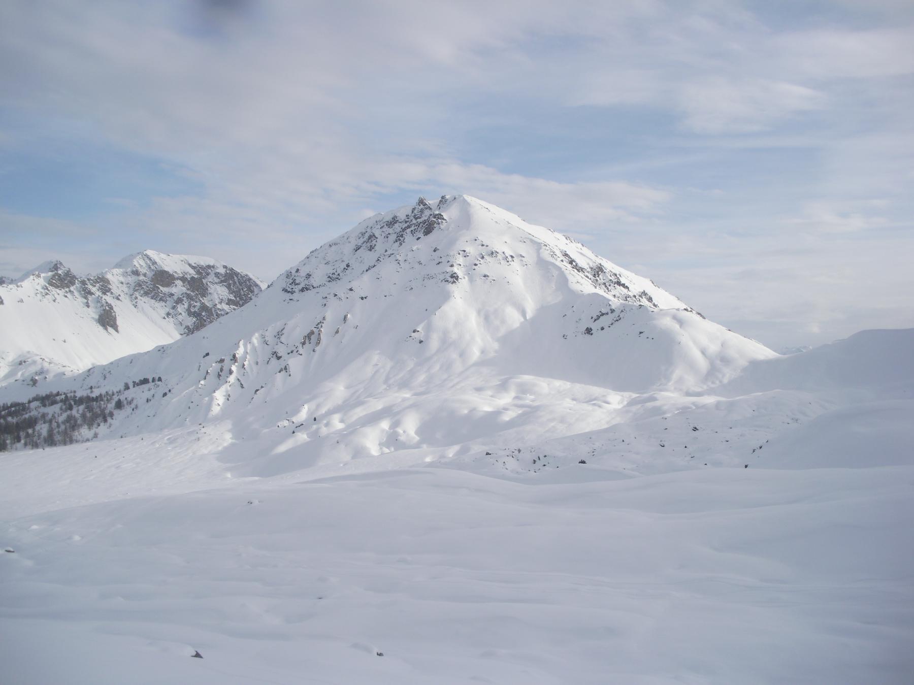 Il Clot la Cime e a sx il Col d'Izoard..