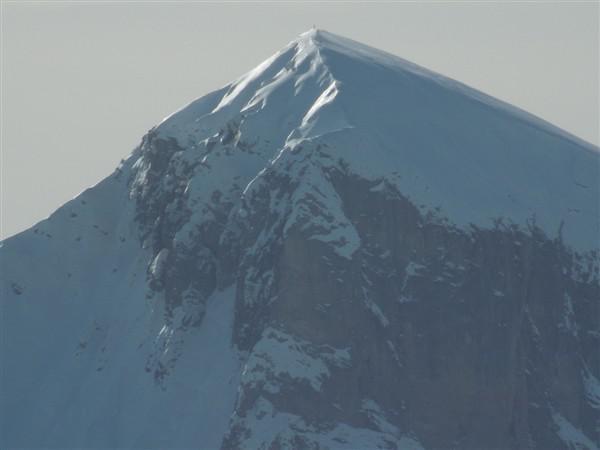 Vista dalla cima del Mondolè ( zoom )