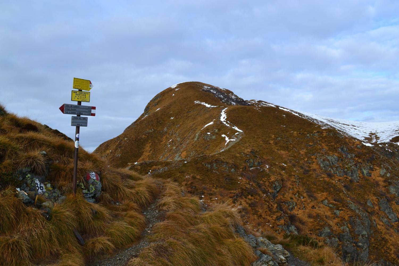 il Monte Foppabona visto dal Passo del Toro