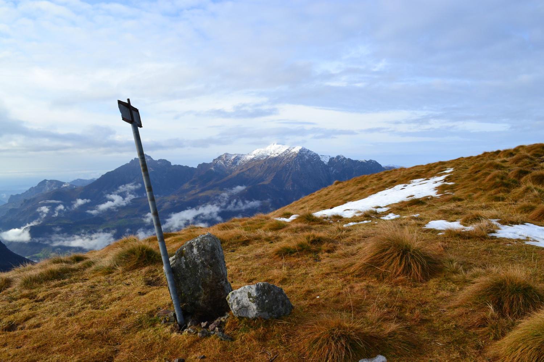 in cima allo Zucco del Corvo (1980 m)
