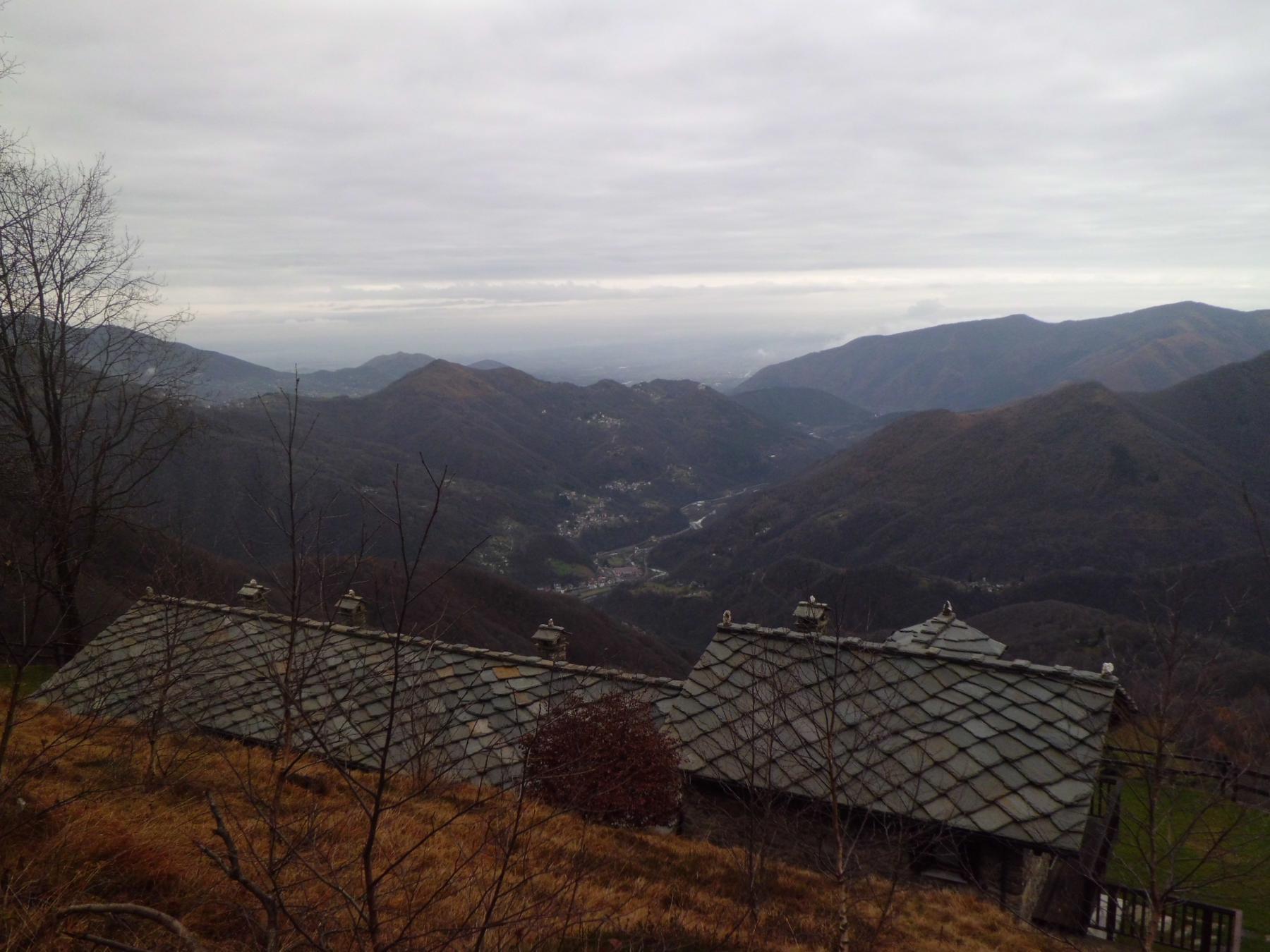 Dall'alpe Belvedere