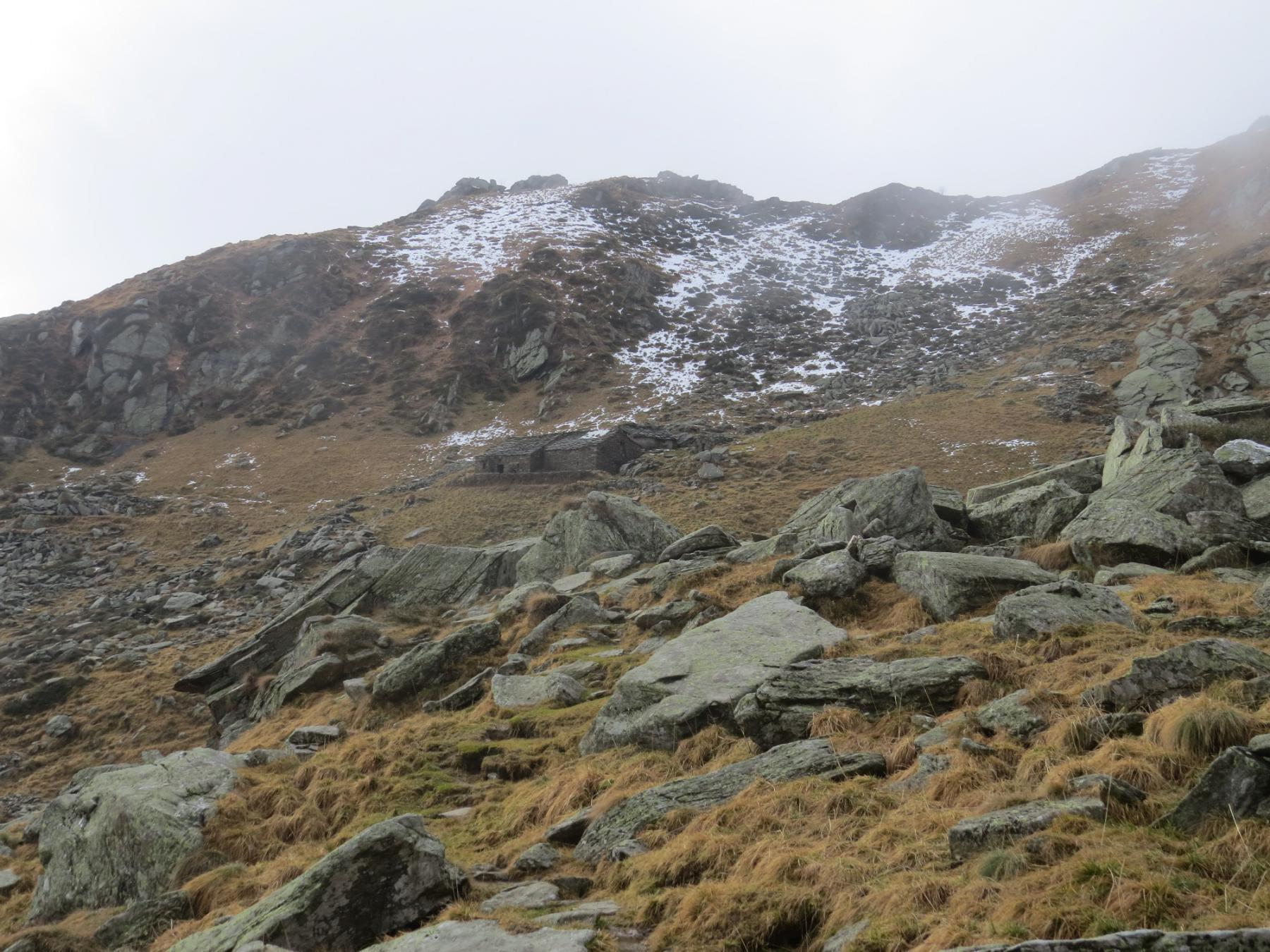 Alpe Pistone inferiore e Bric Pistone