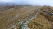 la grande muraglia e l'Alpe La Croce
