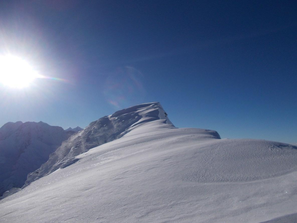 Breithorn, cima Sud Canale NO 2014-12-07