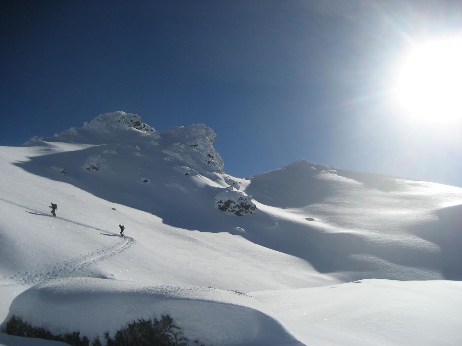 Gimont (Mont) o Grand Charvia da Monginevro 2014-12-07