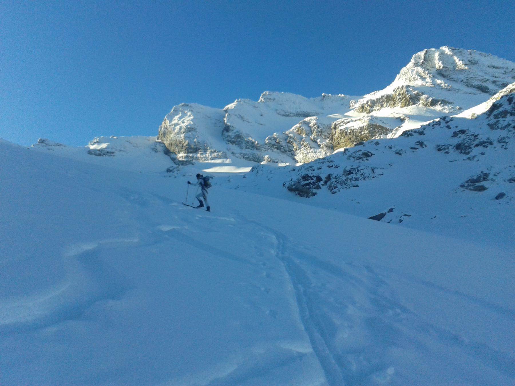 Grand Etret (Testa del) da Pont Valsavarenche 2014-12-07