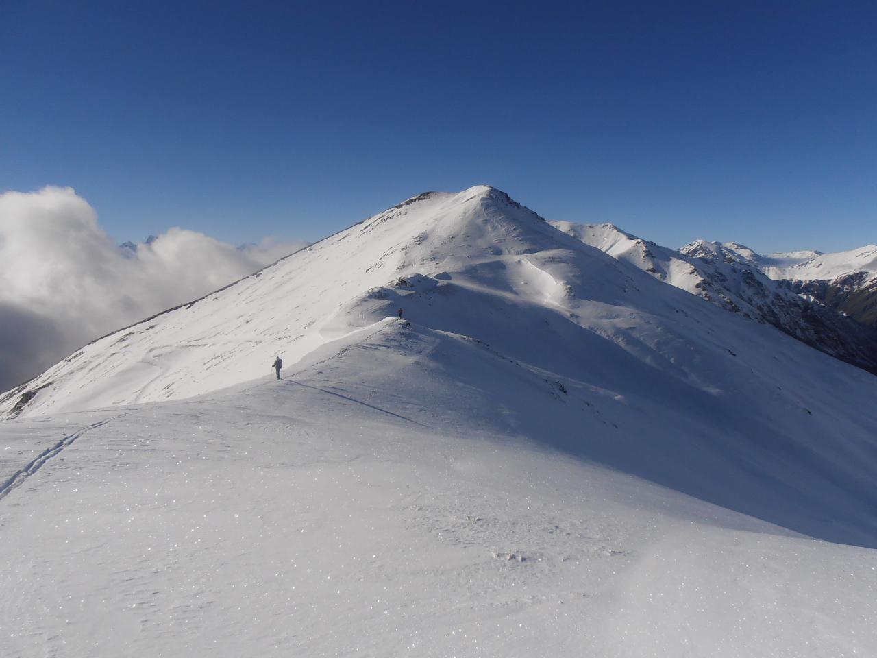 09 - zona del Col Basset, scendendo dall'anticima del Rocher de l'Aigle