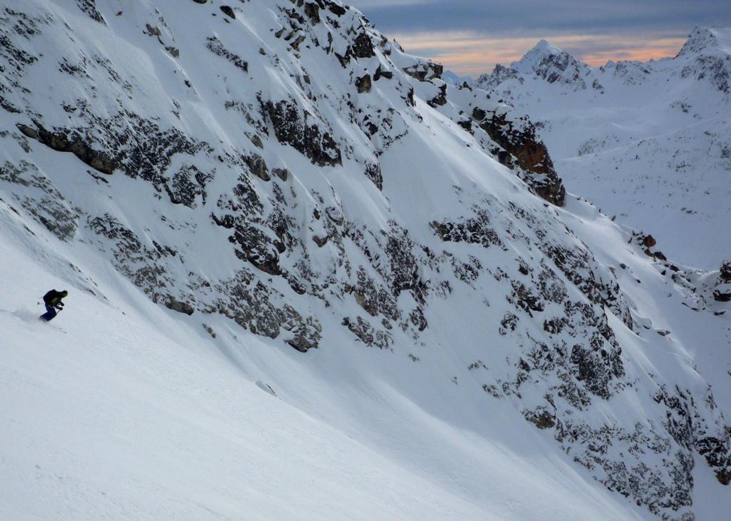 pendii intonsi e neve fantastica!