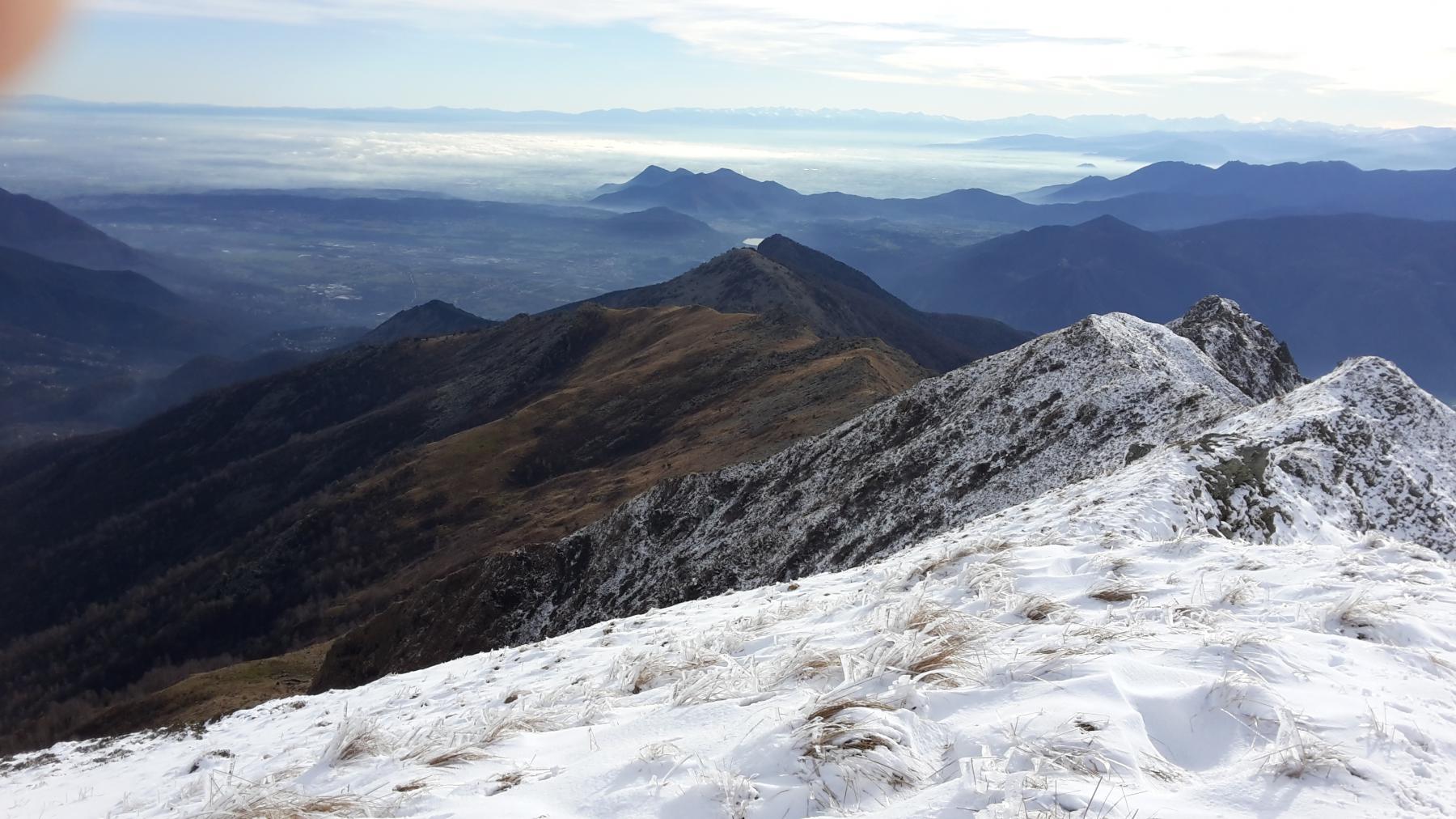 Neve sulla cresta
