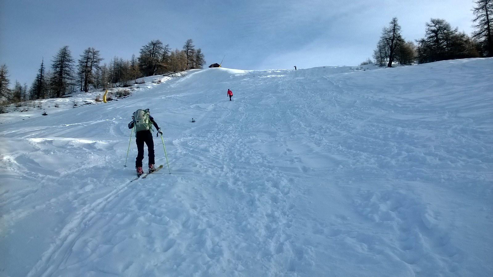 Situazione neve da dove si mettono gli sci