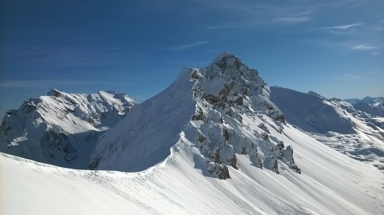 monte Oronaye con Autovallonasso alla sinistra
