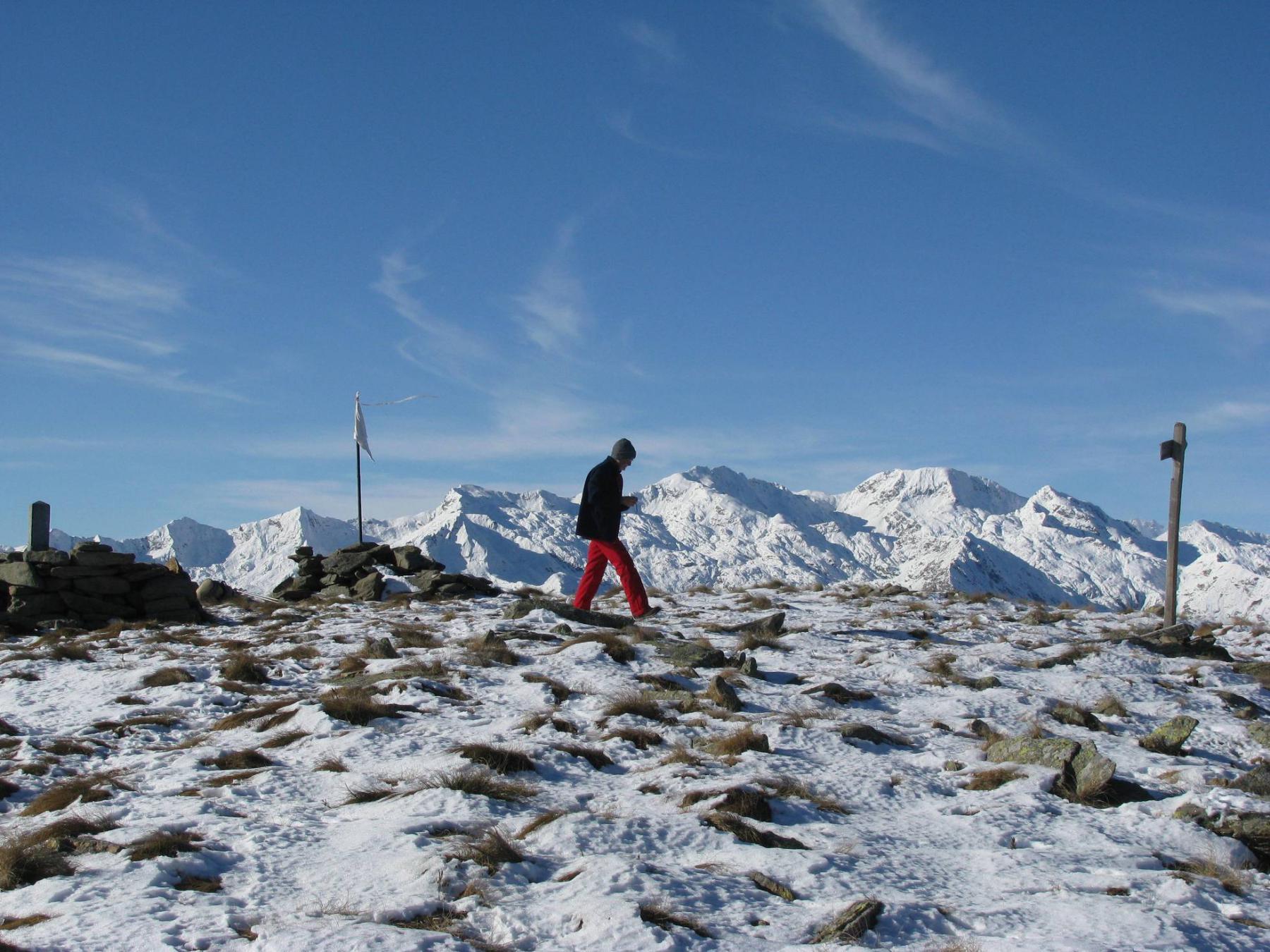 Sommità del Monte Gregorio