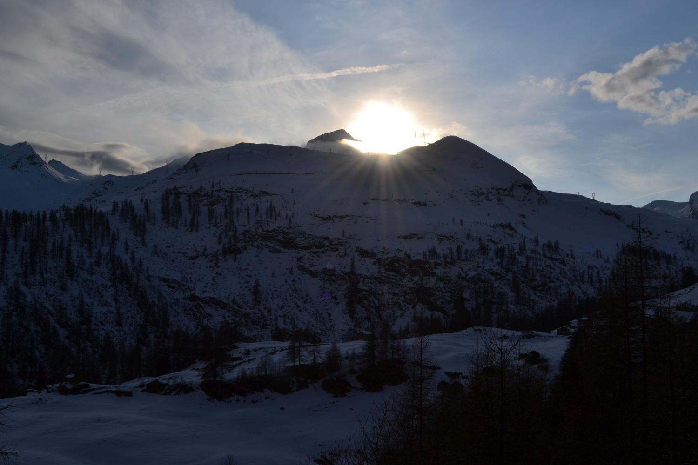 calar del sole dalla strada per Dondena