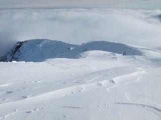 La dorsale verso il Monte Salancia