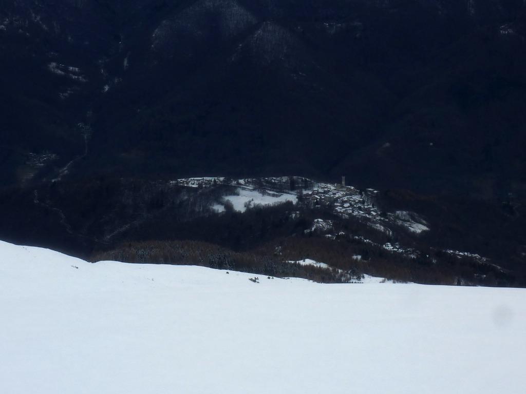 Garitta Nuova (Testa di) e Monte Riba del Gias da Pian Munè 2014-12-17