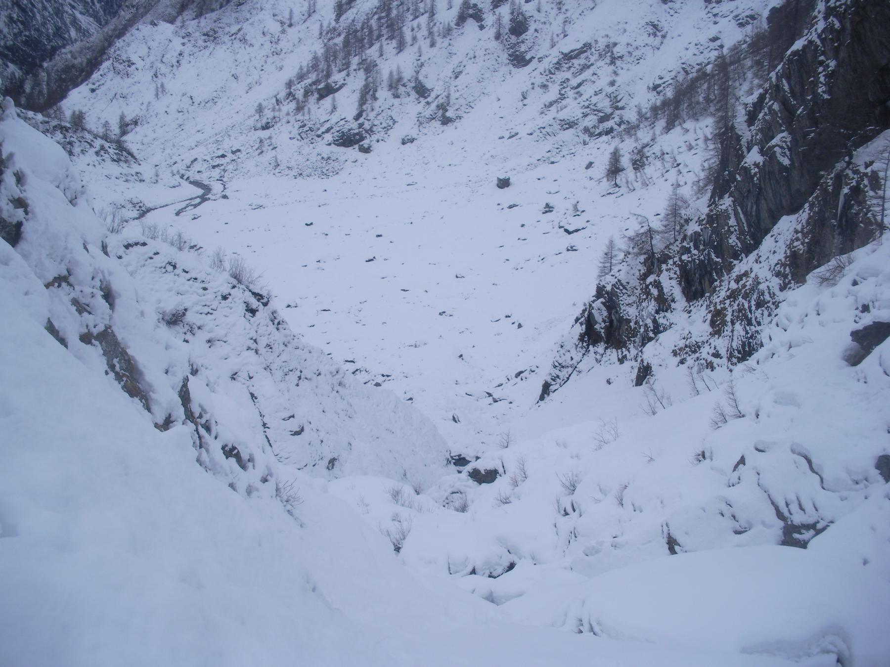 come si fa a sciare qui'..