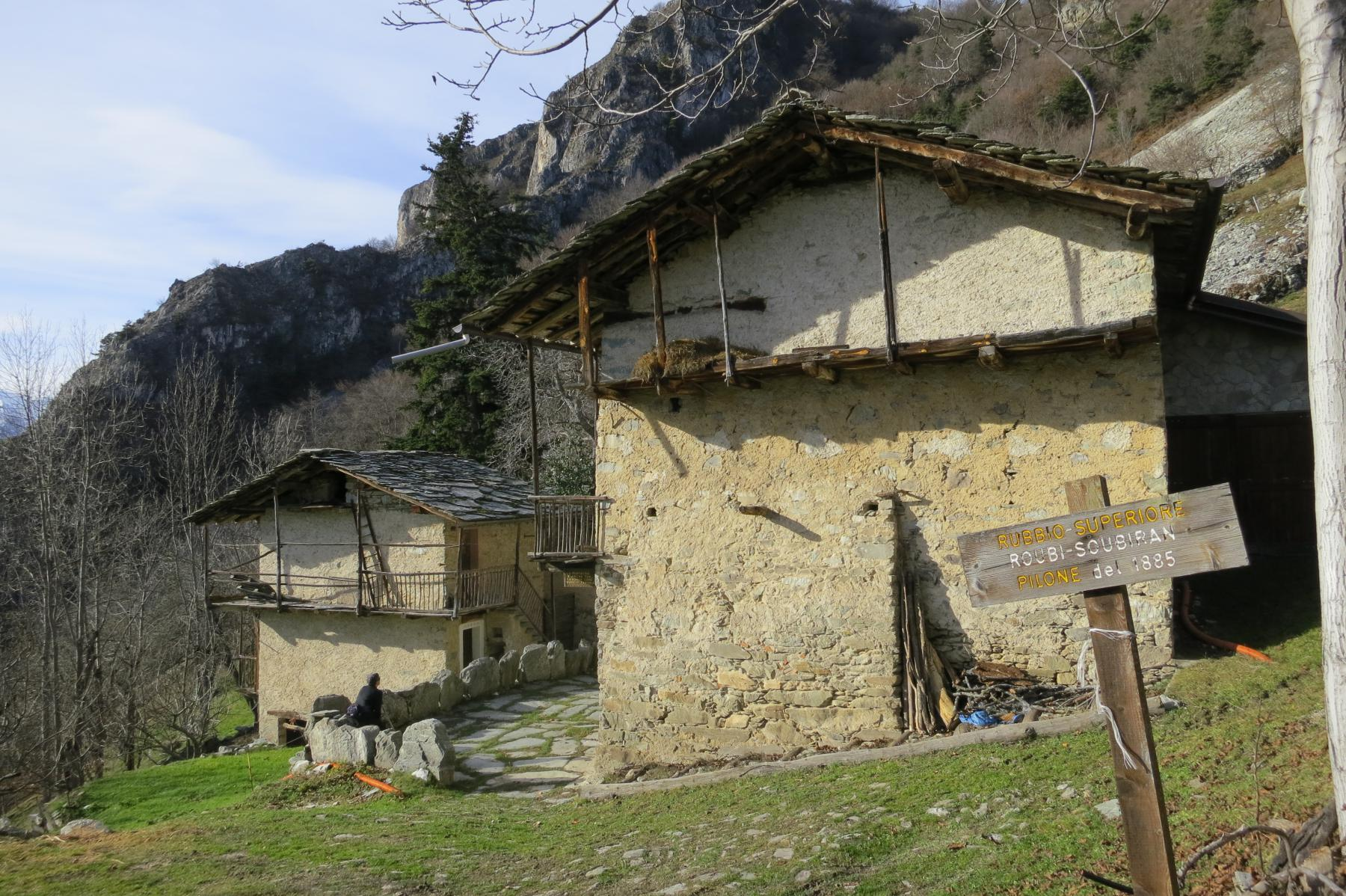 Rubbio soubeyran (superiore) 1300 m