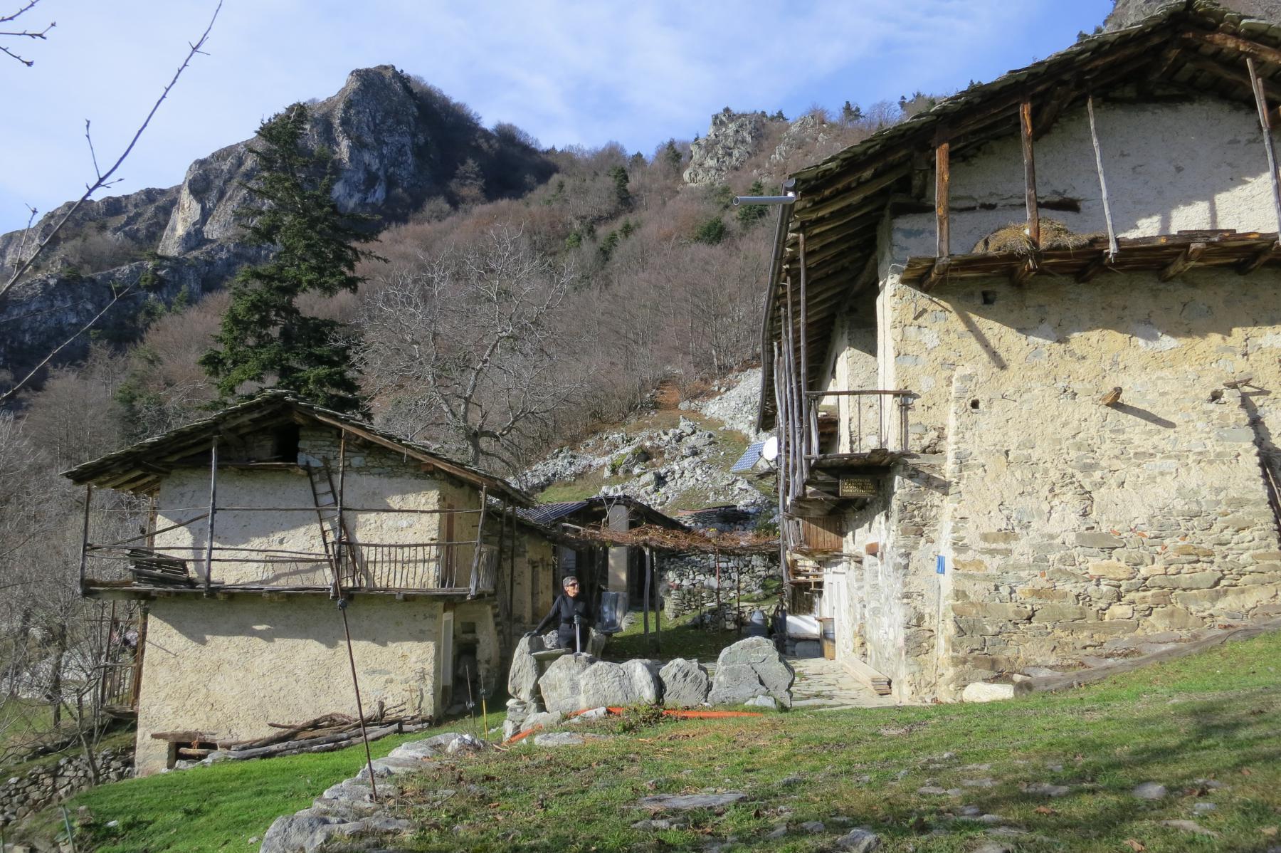 in Rubbio superiore lavoravano e vivevano sette numerose famiglie