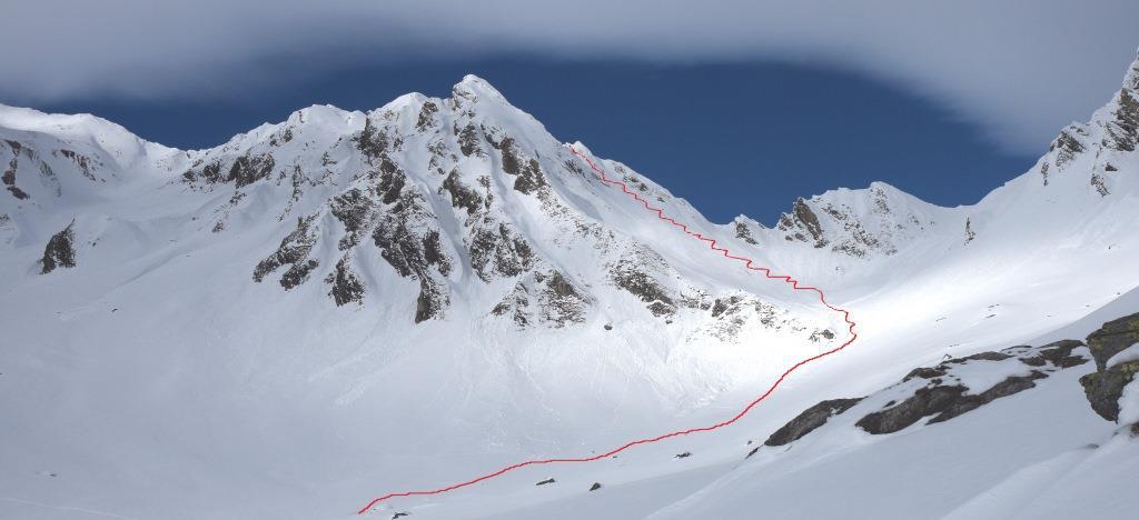 Fourchon (Mont), anticima Sud da Saint Rhemy 2014-12-19