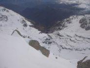 la Val Vassola dalla testa Paiaire