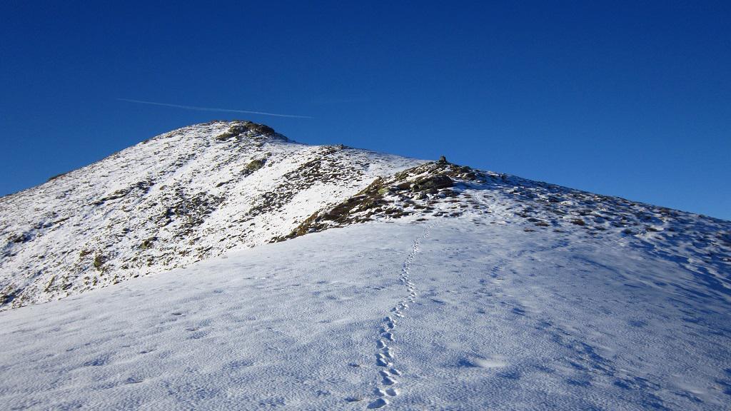 Neve continua dai 1700 metri...