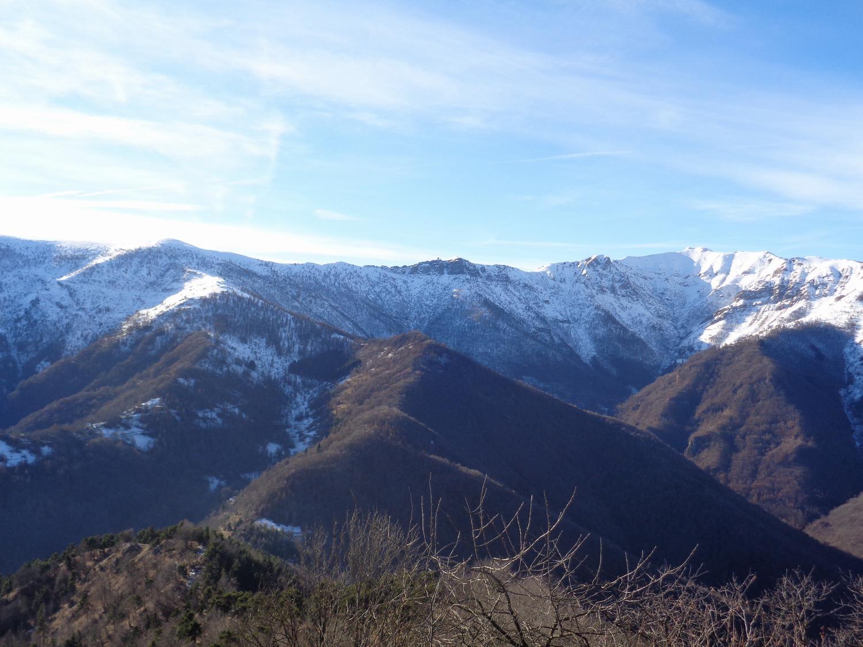 dal Chialmo a Rocca della Cernauda