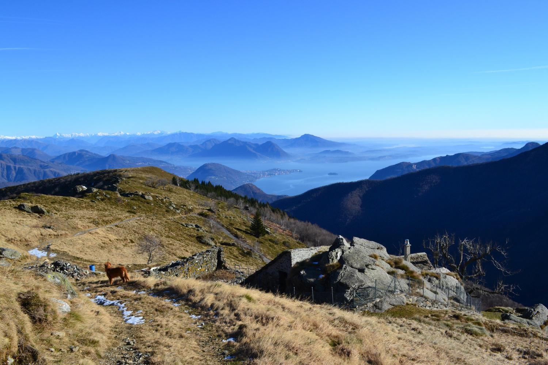 in prossimità dell'Alpe Rossombolmo