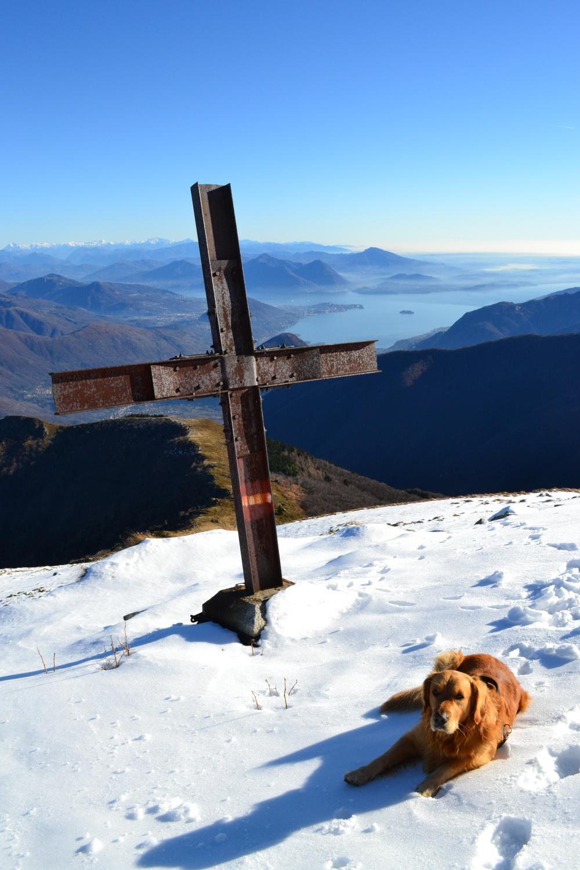 croce con vista sul lago
