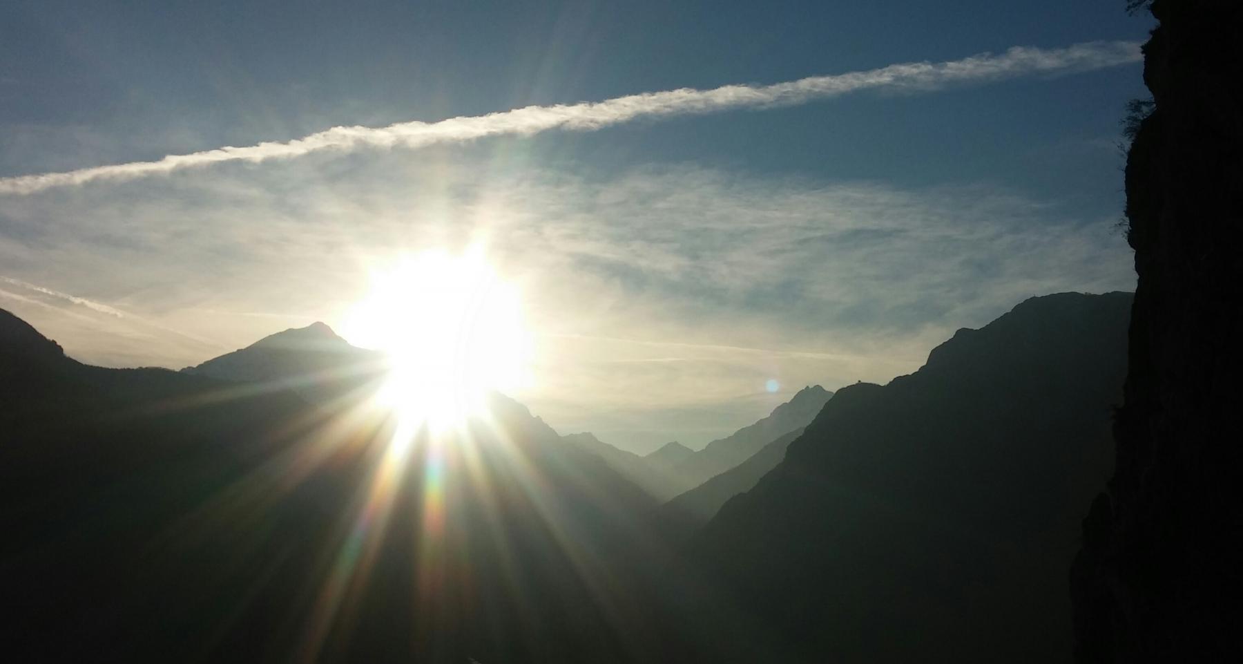ultimi raggi di sole