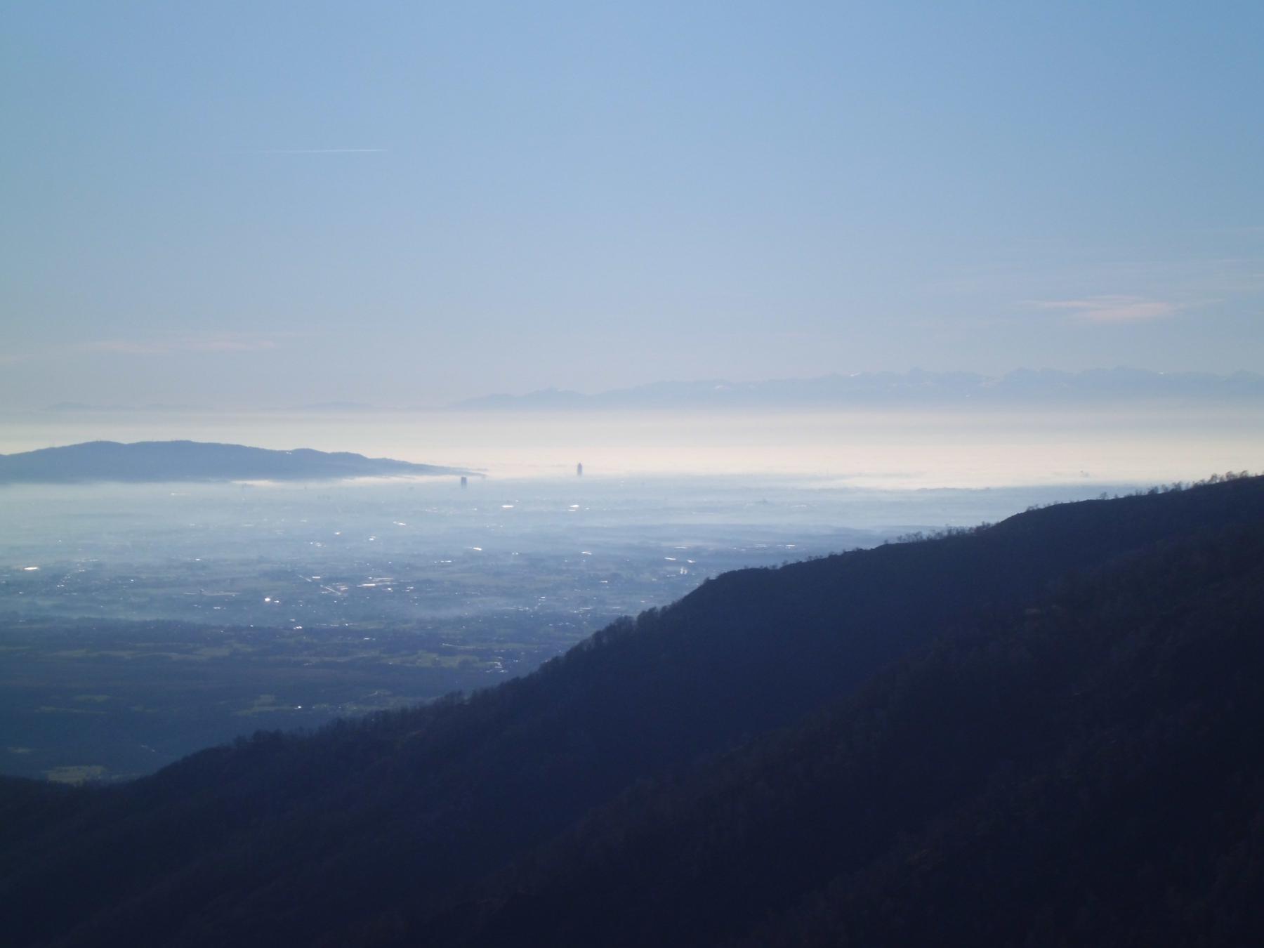 Torino e i due grattacieli