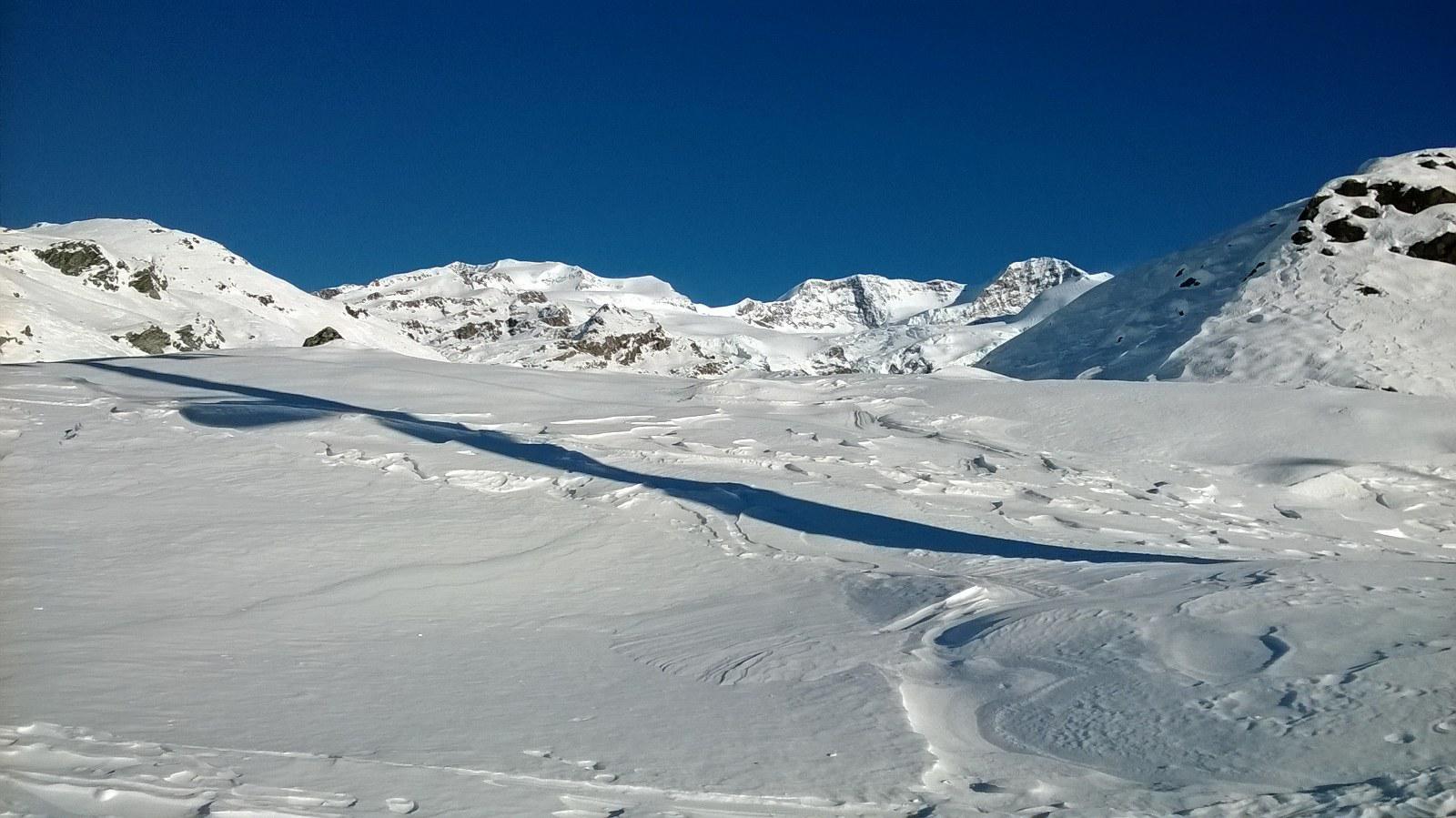 Bel panorama sui Lyskamm