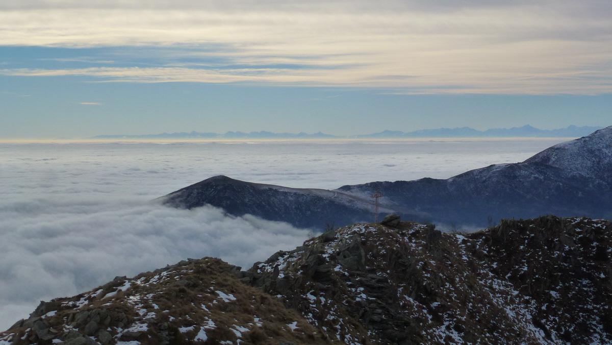 Panorama dall'Arbella