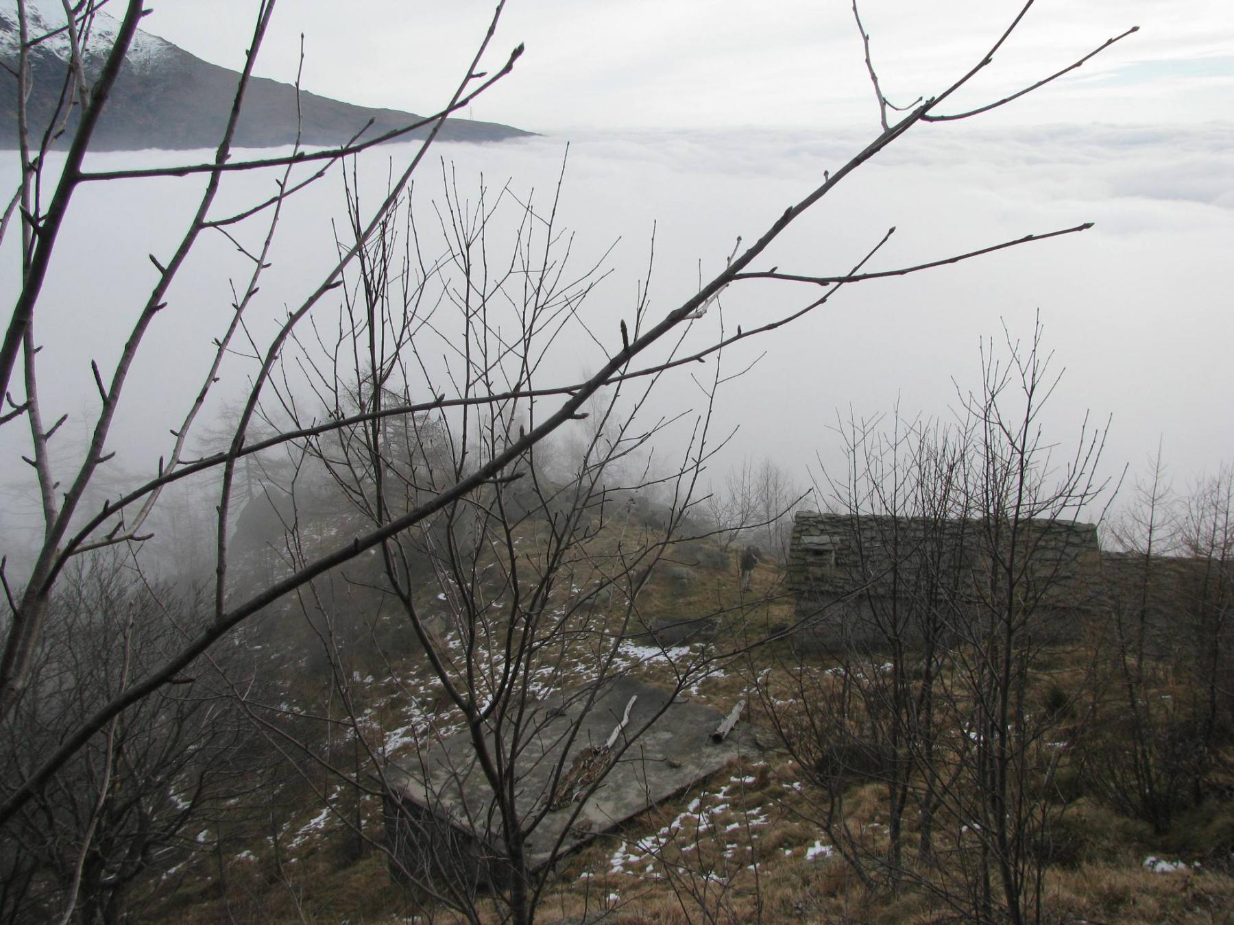 A Pian Martino usciamo dalla nebbia
