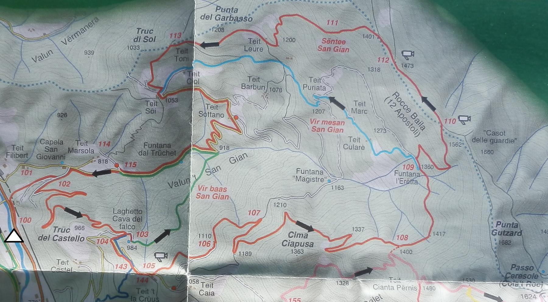 itinerario su cartina_color rosso scuro