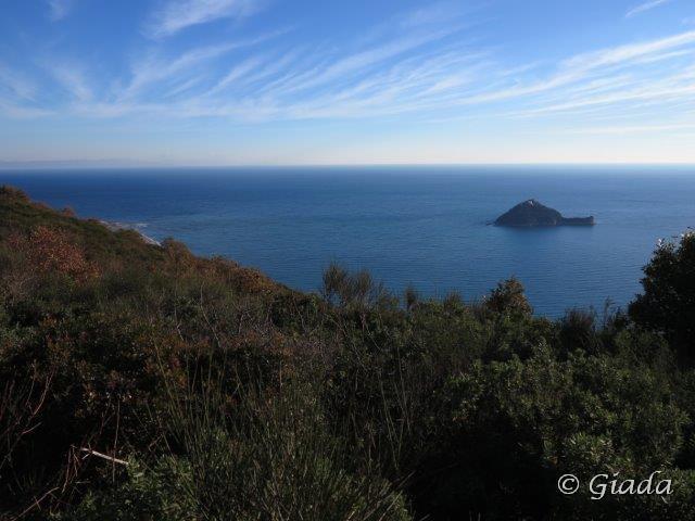 Il Golfo Ligure el'isola Gallinara