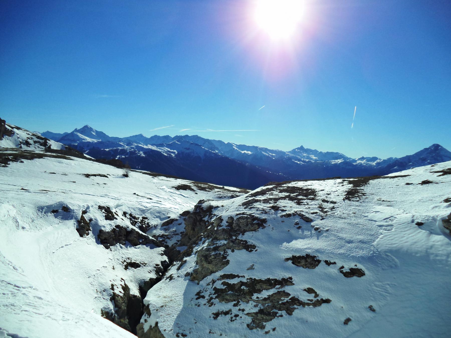 panorama dal plateau