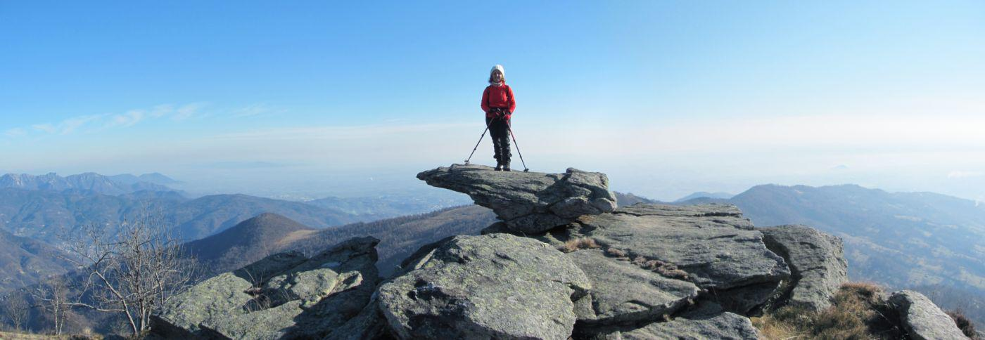 Salendo al Monte Servin