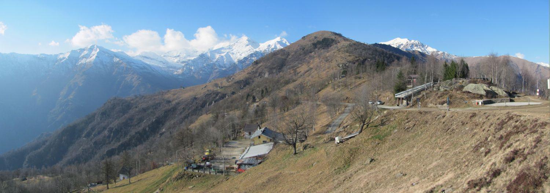 Vista sul Monte Servin