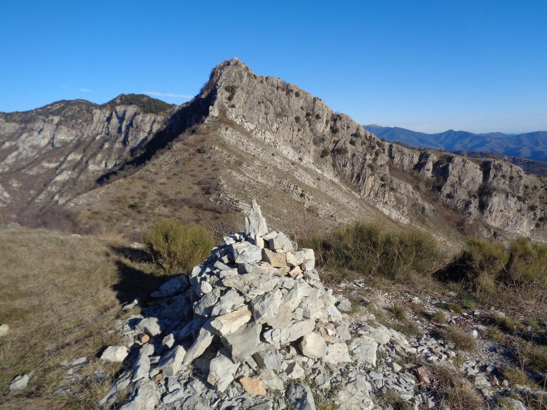 il Fourquin visto da monte Tron