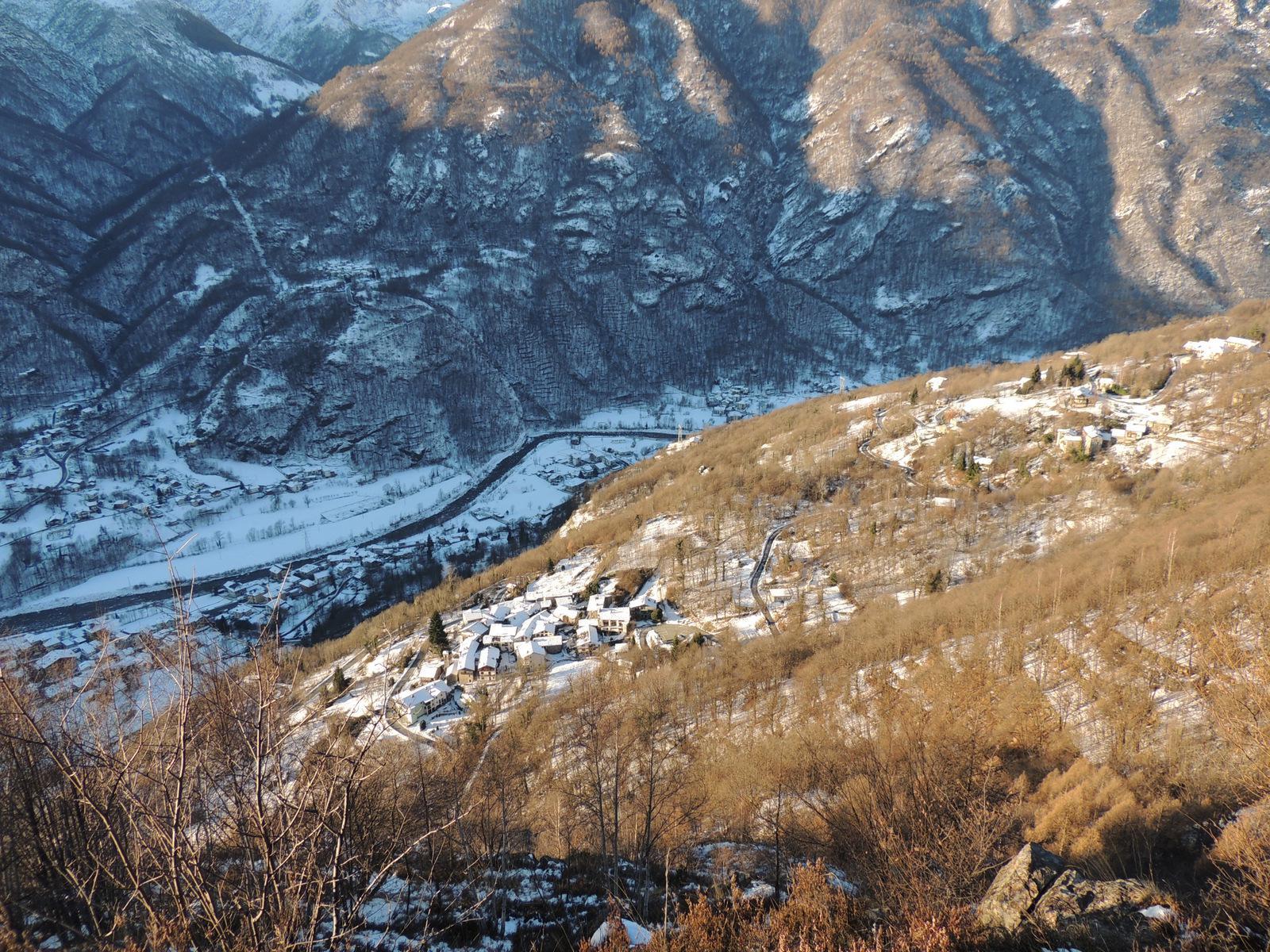 Vista su Montepiano e Locana